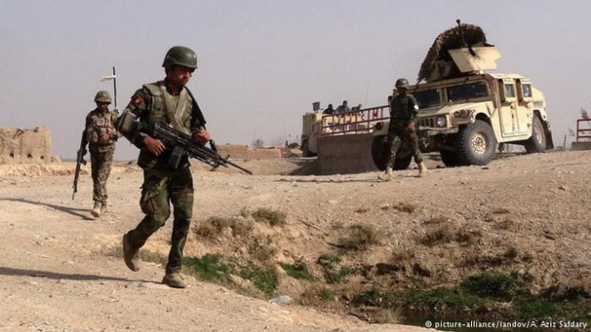 luc luong quan doi afghanistan dang tang cuong day lui taliban ra khoi mien nam nuoc nay- anh:deutsche welle