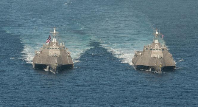 cac tau chien cua ham doi thai binh duong cua my - anh: us. pacific fleet