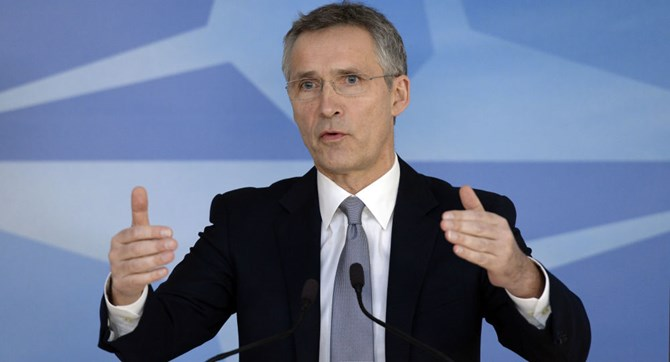 tong thu ky nato jens stoltenberg. anh afp 2016/thierry charlier