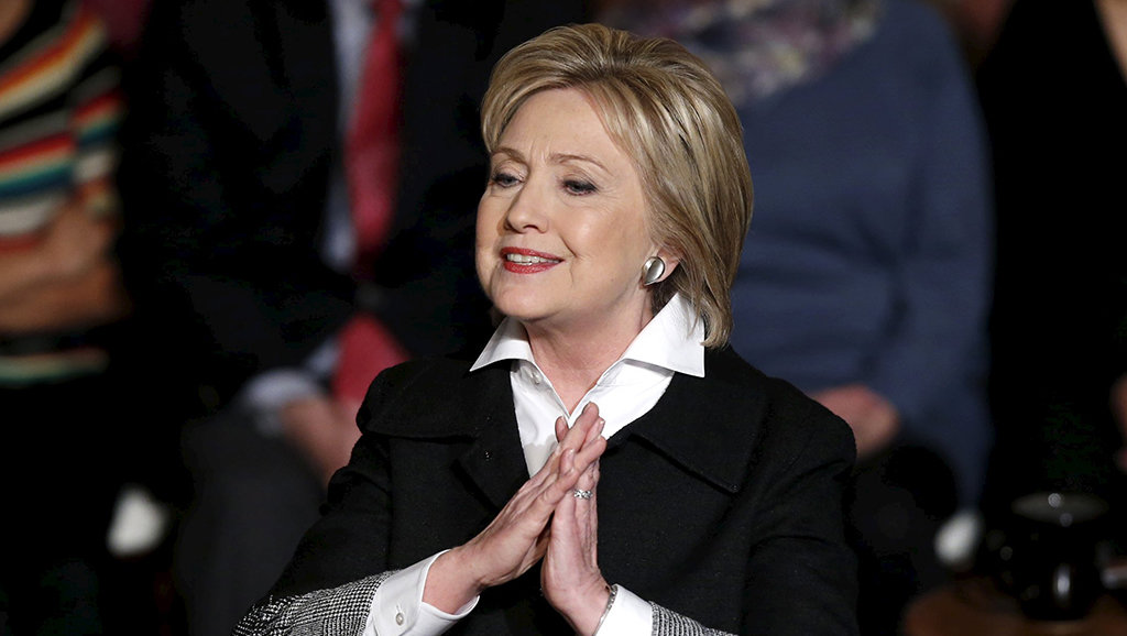 ba hillary clinton - anh: reuters