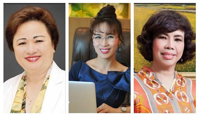 3 nữ tướng ngân hàng lọt danh sách phụ nữ có ảnh hưởng nhất Việt Nam