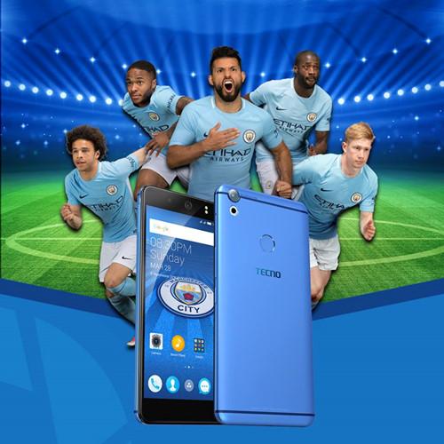 Manchester City trở thành đối tác toàn cầu của hãng điện thoại Tecno Mobile - ảnh 2