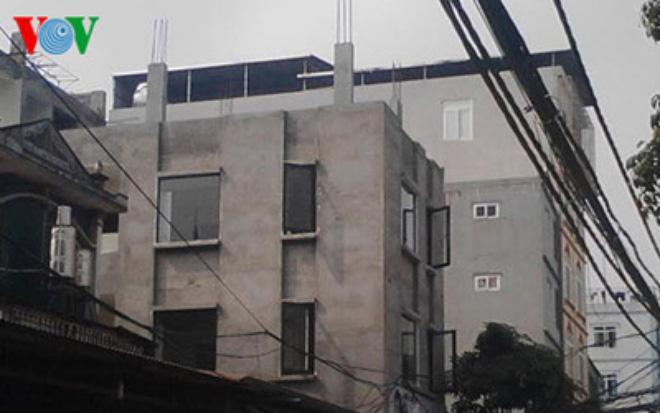 Hà Nội: Dân đua nhau xây dựng không phép trên đất dự án ở Mỹ Đình 1
