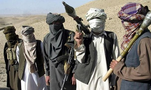 phien quan taliban o afghanistan. anh:press tv.