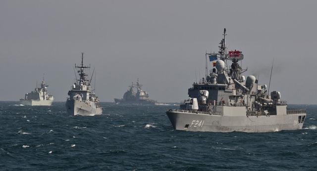 4 tàu chiến NATO vào Biển Đen giữa lúc căng thẳng với Nga leo thang