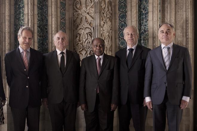 5 thẩm phán định đoạt vụ kiện Biển Đông