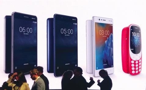 Điện thoại và linh kiện chiếm 86,4% tổng kim ngạch xuất khẩu sang Áo
