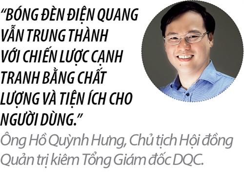 Top 50 2017: Cong ty Co phan Bong den Dien Quang