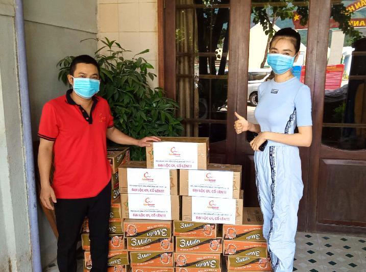 Công ty AGU GROUP chung tay cùng người dân Đại Lộc chống dịch COVID – 19