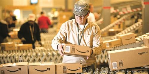 amazon dang xây dung mang kinh doanh hâu can riêng. anh: reviewspedia.net