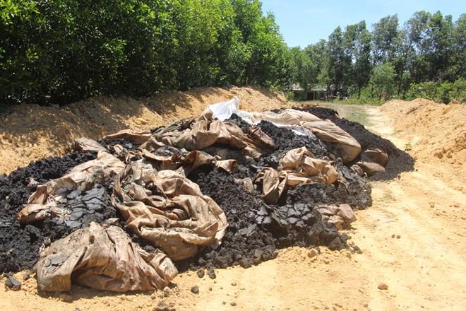 Formosa ký hợp đồng trái luật với công ty chôn chất thải