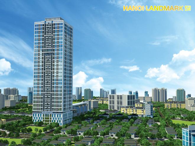 Mua căn hộ Hanoi Landmark 51 nhận vàng cùng lãi suất vay 0%