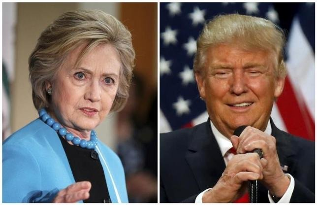 Cuộc đua kịch tính giữa bà Hillary Clinton và ông Donald Trump