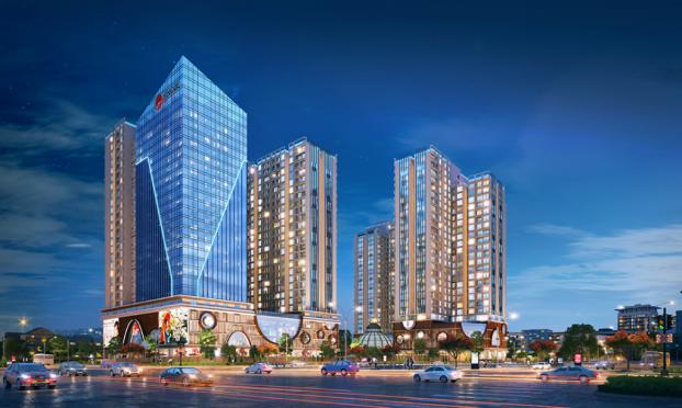 Chỉ từ 2,7 tỷ, sở hữu căn hộ đắt giá nhất trục đường Minh Khai
