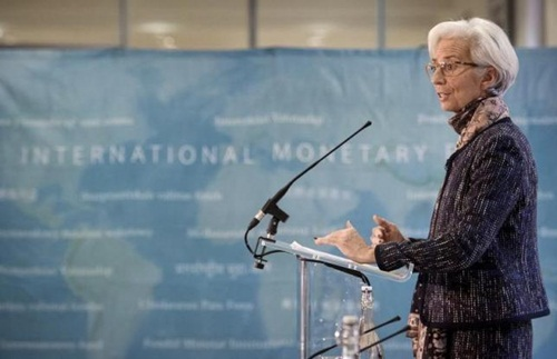 chu tich quy tien te quoc te - ba christine lagarde. anh: reuters