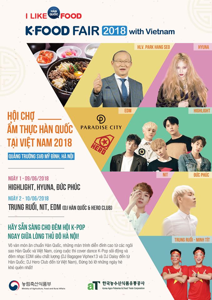 k -food fair - su kien giao luu van hoa - am thuc han quoc duoc mong cho nhat nam 2018