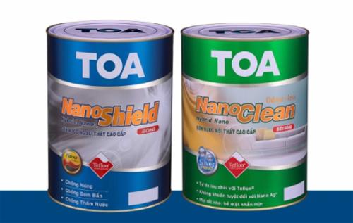 Sơn TOA Việt Nam phát triển hai dòng sản phẩm chủ lực