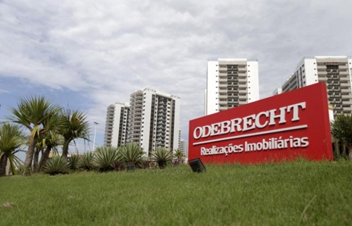 odebrecht hien la tam diem duong day tham nhung lon nhat the gioi. anh: reuters