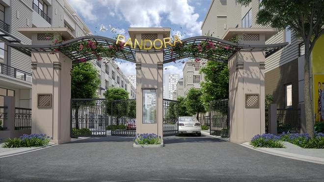 Pandora: Khu biệt thự cao cấp nội đô, cơ hội đầu tư sinh lời lớn