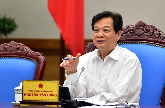 Thủ tướng Nguyễn Tấn Dũng: Khả năng đạt và vượt các chỉ tiêu là khả thi