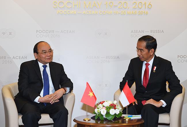 Thủ tướng Nguyễn Xuân Phúc tiếp xúc song phương lãnh đạo các nước Asean