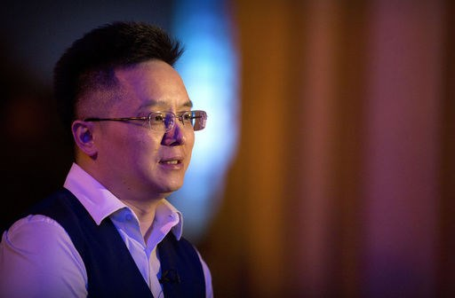 tony xia, ceo cua cong ty recon holdings. (nguon: ap)
