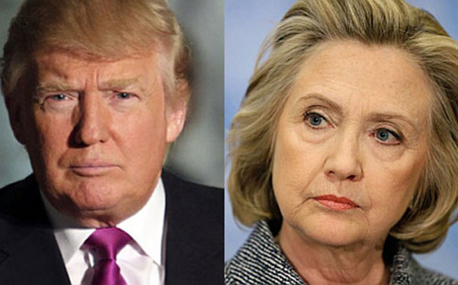 """Cho rằng Trump """"quá dở"""", doanh nghiệp Mỹ muốn Hillary Clinton làm Tổng thống"""