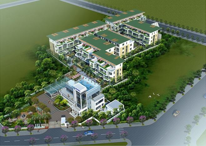 Dự án 671 Villas Hoàng Hoa Thám hút khách nhờ thiết kế