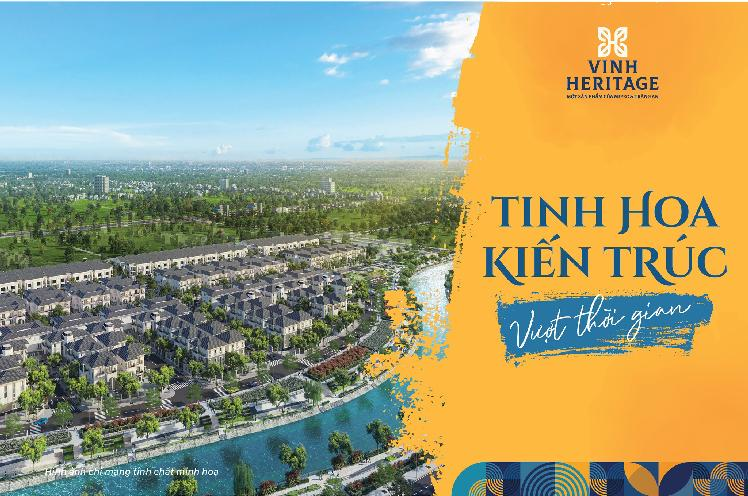 Những điểm sáng của dự án Vinh heritage kề bên tuyến đường Lê Mao kéo dài