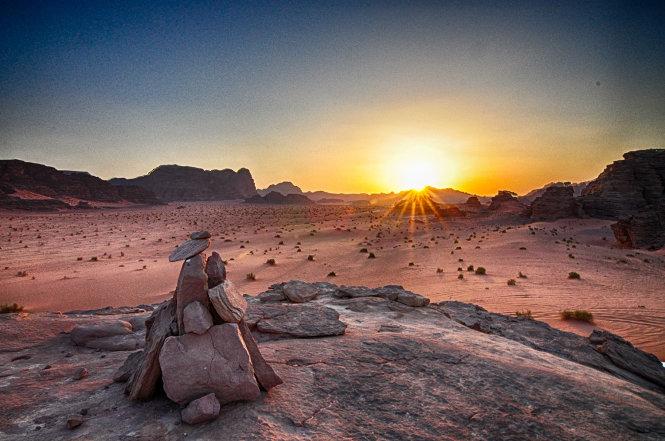 Khám phá Wadi Rum huyền thoại