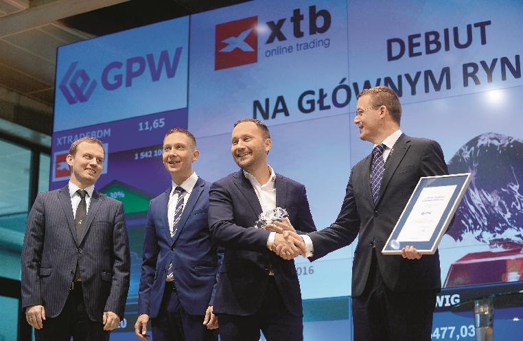 XTB lọt vào Top 5 nhà môi giới lớn nhất thế giới