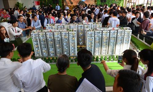 Giá căn hộ tại TP HCM leo thang theo cú hích hạ tầng