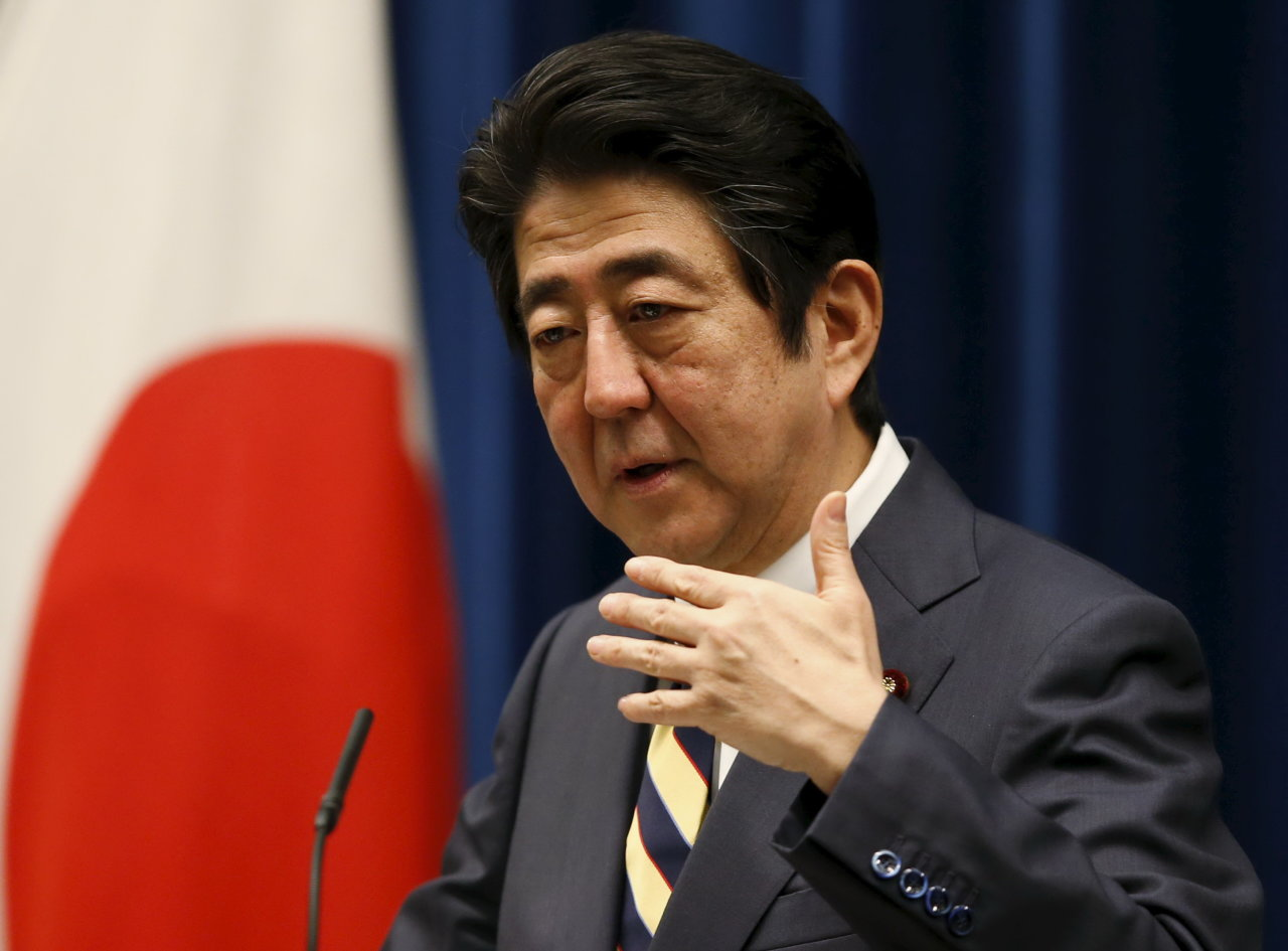 thu tuong nhat shinzo abe - anh: reuters