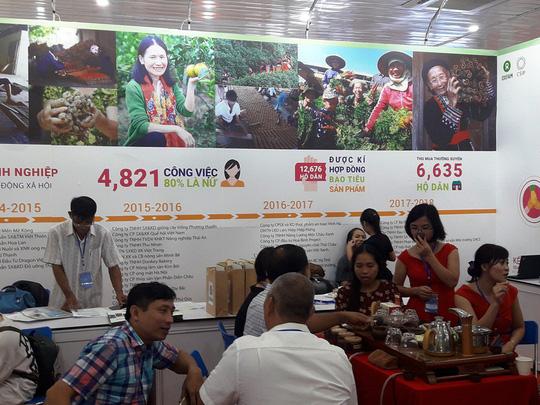 cac gian hang tham gia tai agroviet 2018
