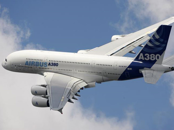 chiec a380 cua airbus anh: reuters
