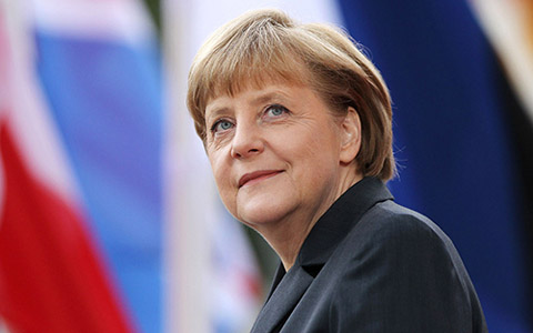 thu tuong duc angela merkel. (anh: independent balkan news agency)