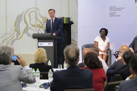 Thủ tướng Anh David Cameron: Minh bạch để thu hút đầu tư