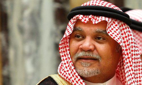 cuu dai su arab sauditai my bandar bin sultan. anh:daily beast
