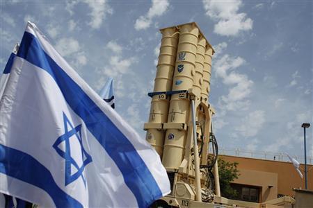 he thong phong thu ten lua arrow (trong anh) chi la mot trong nhieu minn chung cho quan he quan su huu hao giua my va israel - anh: reuters
