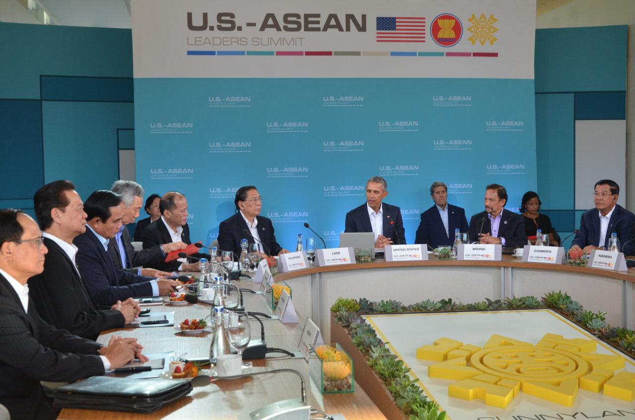 Cam kết bền vững của Mỹ với ASEAN
