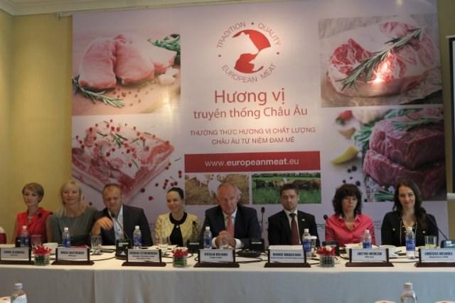 Ba Lan đẩy mạnh xuất khẩu thịt heo, bò vào Việt Nam