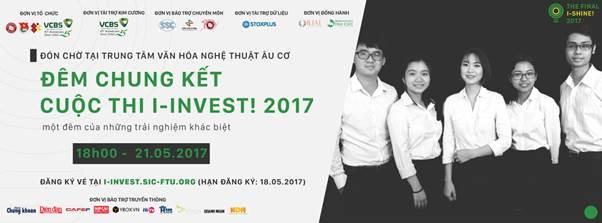 dem chung ket i-shine! cua cuoc thi i-invest! 2017