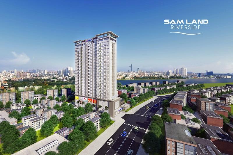 Sacom công bố 'Ngày Hội Vàng Đầu tư' mở bán đợt 2 dự án Samland Riverside