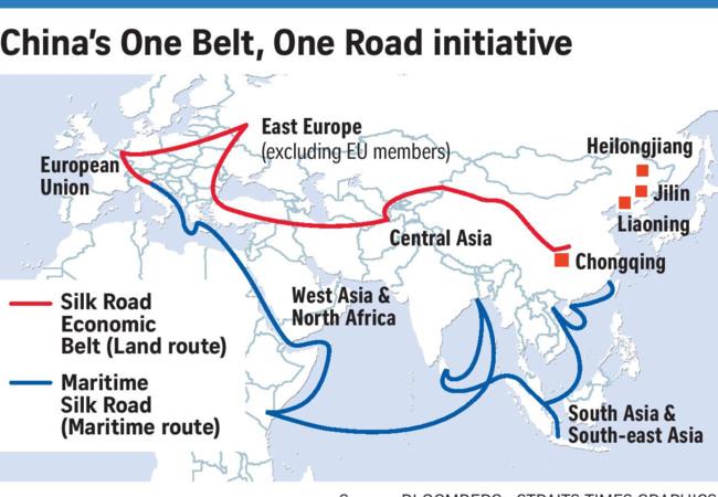 Mỹ, Nhật Bản và Ấn Độ thực ra rất quan tâm đến 'Vành đai, con đường'?