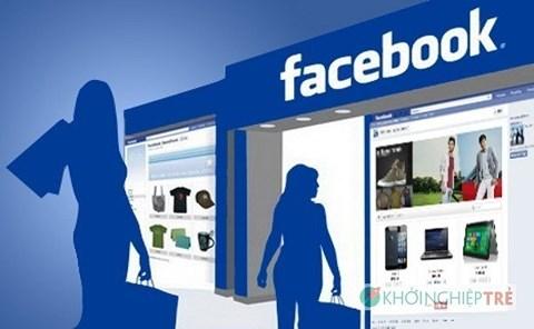 ngay cang nhieu ca nhan, to chuc trong nuoc kinh doanh qua facebook