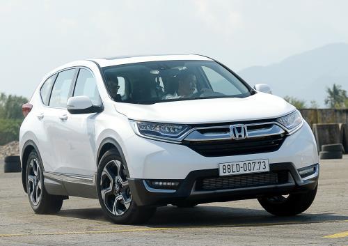 Bảng giá xe ô tô Honda tháng 7/2018, CR-V tăng giá