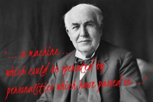 Bí ẩn quanh 'thiết bị giao tiếp với người chết' của bác học Edison