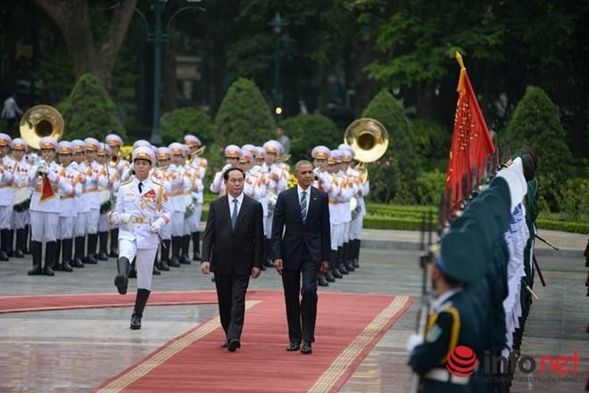 tong thong hoa ky obama tham viet nam tu 23-25/5.
