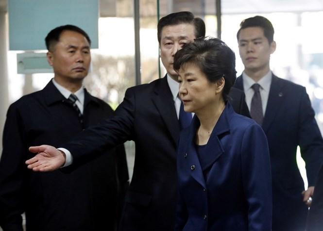 Cựu Tổng thống Hàn Quốc bị truy tố về tội nhận hối lộ