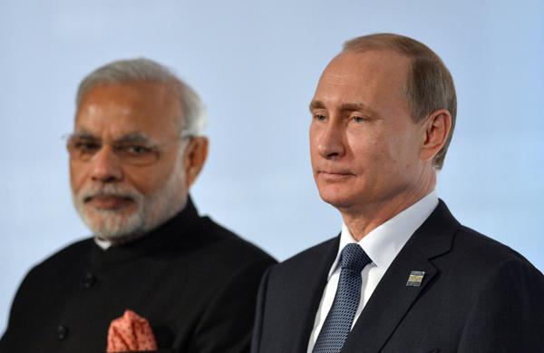 Bất an với Trung Quốc, Putin tìm bạn mới